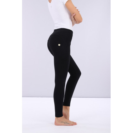 WR.UP® Mid Waist Super Skinny - 7/8 Length - N0 - Black