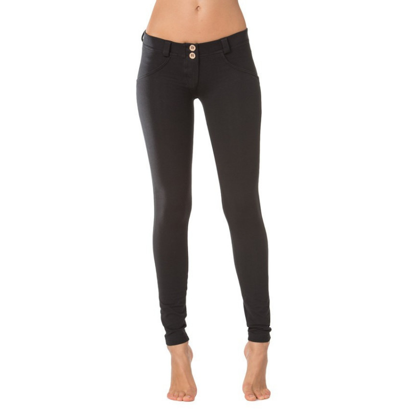 WR.UP® REGULAR WAIST SKINNY - N0 - Black