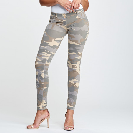 WR.UP® Low Waist Skinny - Z48M - Camouflage