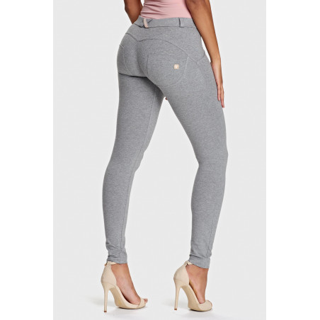 WR.UP® Regular Waist Super Skinny - H4 - Melange Grey