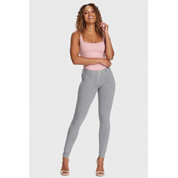 WR.UP® REGULAR WAIST SKINNY - Z64 - LIGHT BEIGE