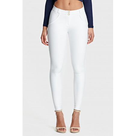 WR.UP® Ecoleather - Regular Waist Skinny - W0 - White