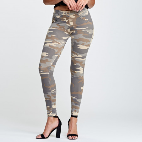 WR.UP® Regular Waist Super Skinny - Z48M - Camouflage