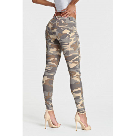 WR.UP® Regular Waist Skinny - Z48M - Camouflage