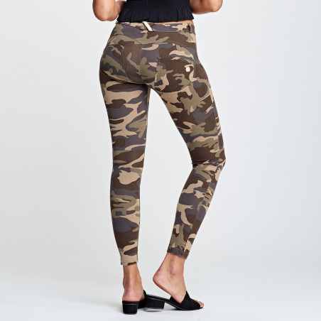 WR.UP® Regular Waist Super Skinny - M95M - Camouflage