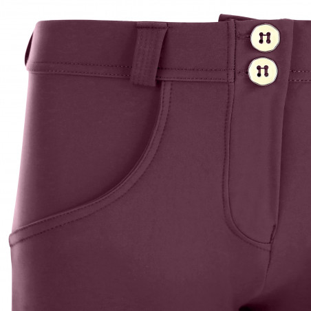 WR.UP® D.I.W.O Pro® - Regular Waist Super Skinny - 7/8 Length - K89 - Mauve Wine