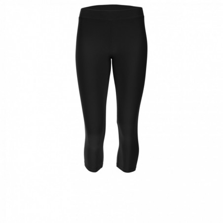 Stretch Corsair-Length Leggings With a Freddy Print - N - Black