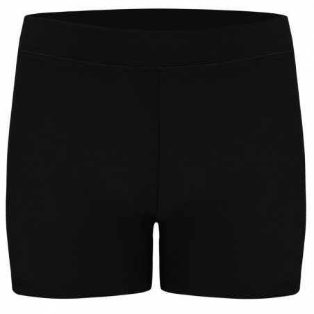 Essential Stretch Jersey Shorts - N - Black