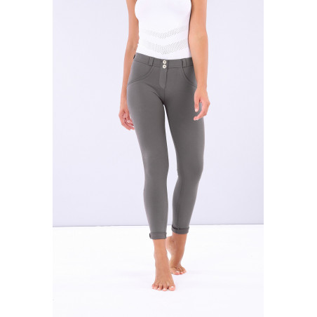 WR.UP® Regular Waist Skinny - Made in Italy - Shiny Inner - G55 - Volcanic Glass