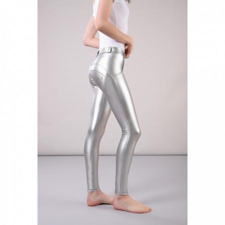 WR.UP® Regular Waist Super Skinny - Metallic - S - Silver