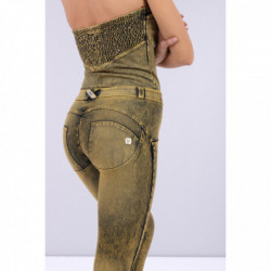 WR.UP® DRILL - HIGH WAIST SKINNY - BLACK - N0