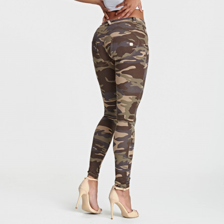 WR.UP® Regular Waist Skinny - M95M - Camouflage