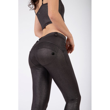 WR.UP® Regular Waist Skinny - Metallic Jersey - G109 -
