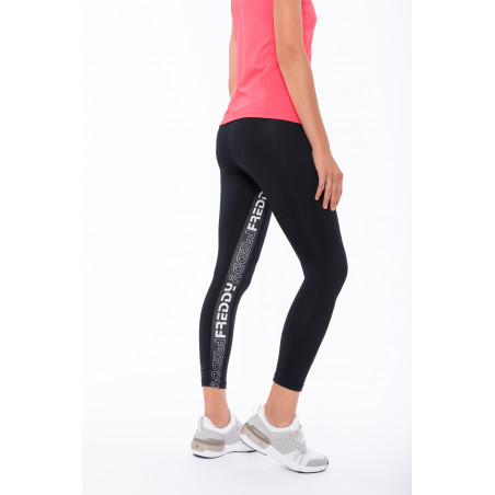 Superfit Leggins In D.I.W.O® - High Waist Skinny - Freddy Band - 7/8 Length - N - Black