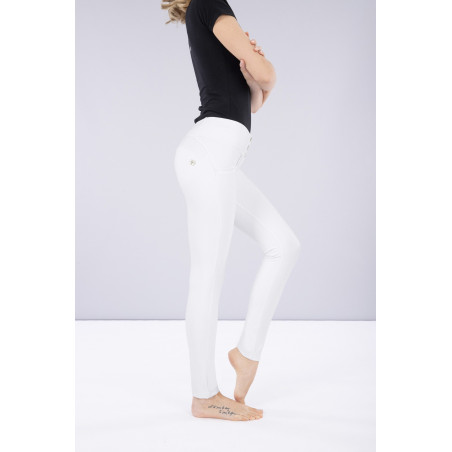 WR.UP® Ecoleather - Mid Waist Skinny - W0 - White