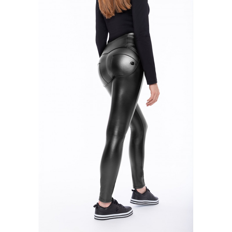 WR.UP® HIGH WAIST SKINNY - MADE IN ITALY - G36 - SILVER FILIGREE