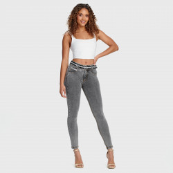 WR.UP® MATERNITY PANTS - HIGH WAIST SKINNY - N0 - BLACK