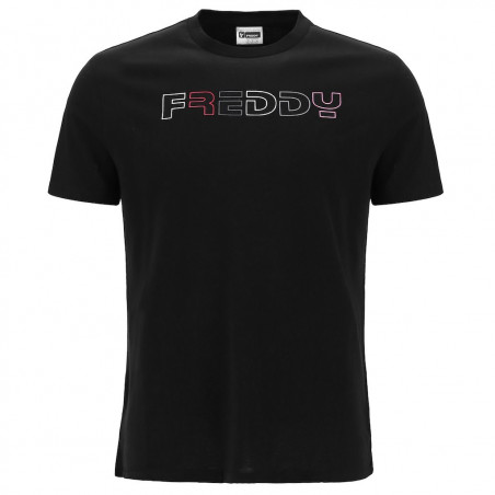 Short Sleeved T-Shirt - Freddy Logo - Black