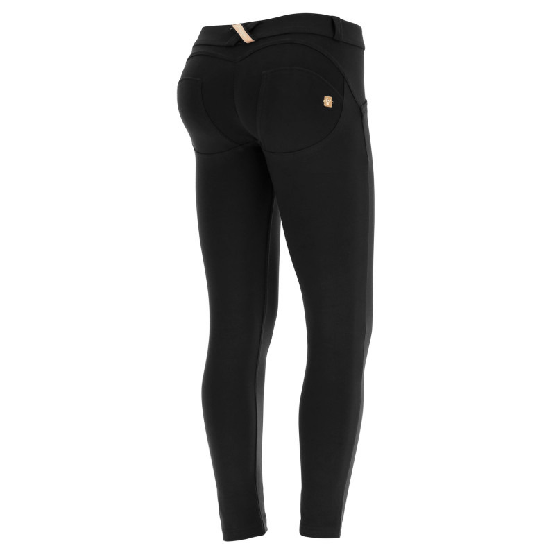 WR.UP® D.I.W.O PRO® - REGULAR WAIST SUPER SKINNY - 7/8 LENGHT - N0 - BLACK