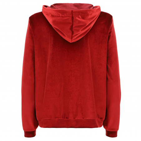 Freddy Hoodie - Full Zip - K84 - Biking Red