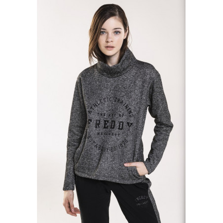 Freddy Lurex Fleece - NL3 - Anthracite Black Lurex