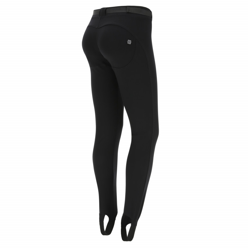 WR.UP® D.I.W.O PRO® - HIGH WAIST SUPER SKINNY - 7/8 LENGHT - N0 - BLACK