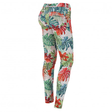 WR.UP® D.I.W.O® - Regular Waist Skinny - FLO11 - Tropical Flower
