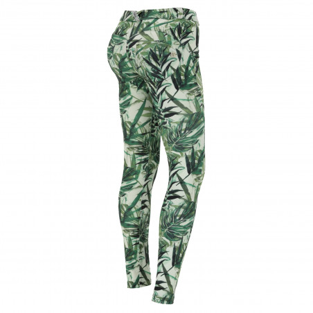 WR.UP® D.I.W.O® - Regular Waist Skinny - FLO10 - Jungle Print