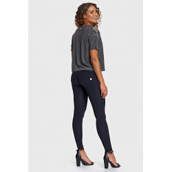 WR.UP® REGULAR WAIST SUPER SKINNY - STRETCH COTTON - N - BLACK