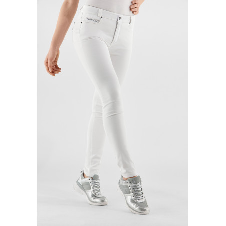 Freddy Black - Skinny Jeans In Stretch Denim - W - White Denim