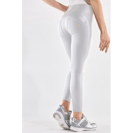 WR.UP® Ecoleather - High Waist Super Skinny - 7/8 Length - W - White
