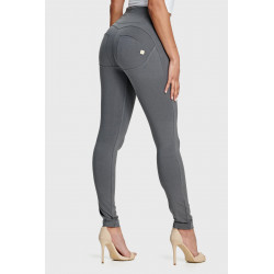 WR.UP® CURVY - REGULAR WAIST SUPER SKINNY - G14 - DARK GREY