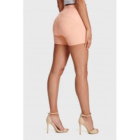 WR.UP® Shorts - High Waist Skinny - Heavyweight Stretch Jersey - P34 - Rose Cloud