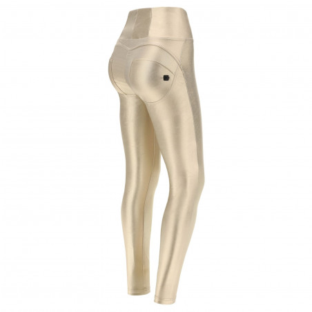 WR.UP® High Waist Skinny - Coated Performance Fabric - 013 - Gold