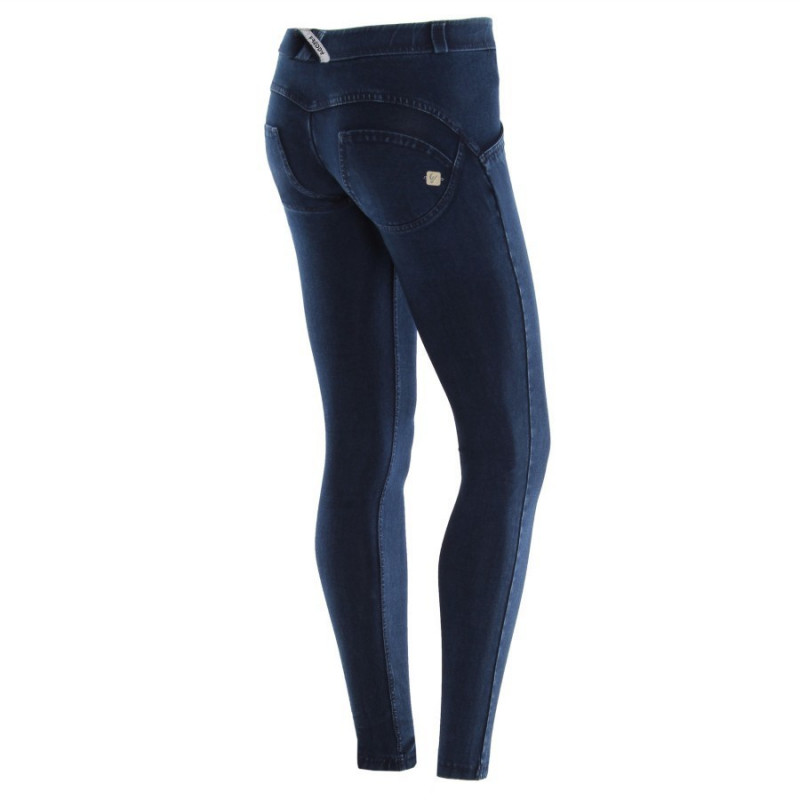 WR.UP® D.I.W.O PRO® - HIGH WAIST SUPER SKINNY - 7/8 LENGHT - Z10 - COBBLESTONE