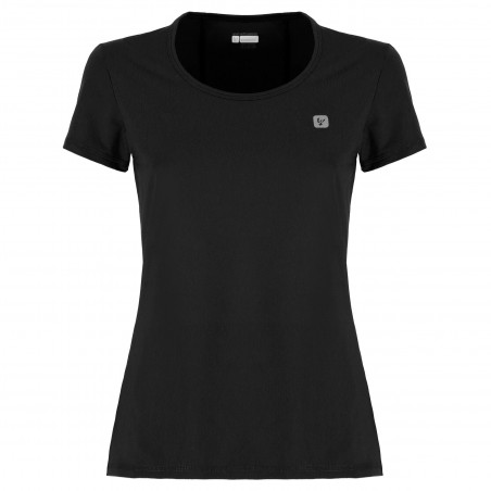 T-Shirt - Stretch Polyester - N - Black