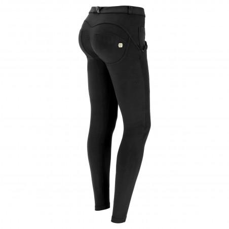 WR.UP® Regular Waist Super Skinny - Stretch Cotton - N - Black