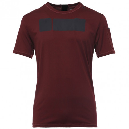 T-Shirt Perfect Fit D.I.W.O® - Technical Fabric - K770 - Garnet Red