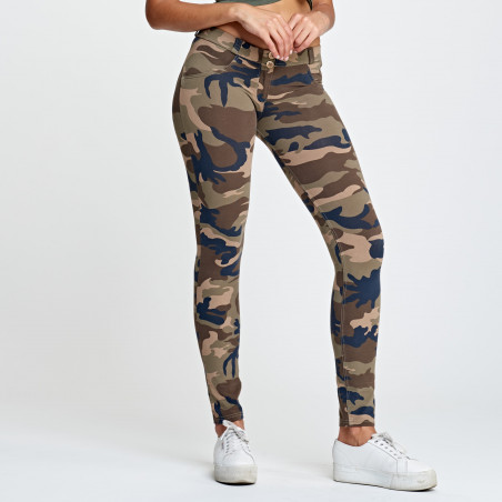 WR.UP® Low Waist Skinny - M95M - Camouflage