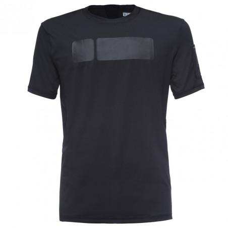 T-Shirt Perfect Fit D.I.W.O® - Technical Fabric - N0 - Black