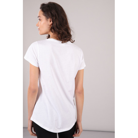 Comfort T-Shirt - Crew Neck - W - White
