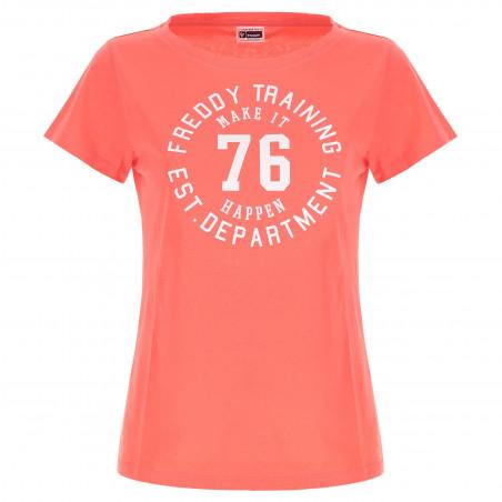 T-Shirt - Regular Fit - A10 - Fusion Coral