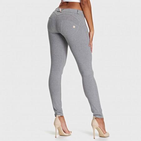 WR.UP® Low Waist Skinny - H4 - Melange Grey