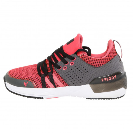 Sport Shoe - Active Breathability - GA - Grey & Coral